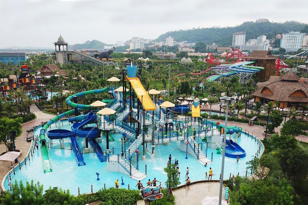 Khu vui chơi giải trí Sun World Ha Long Complex