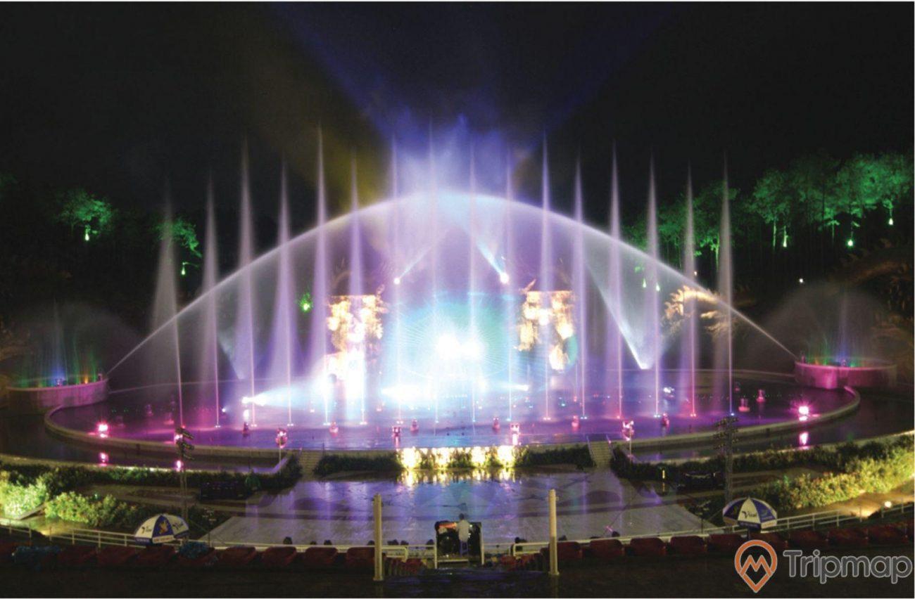 Sân khấu nhạc nước Tuần Châulà công trình thế kỷ, hiện đại bậc nhất Đông Nam Á