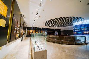 Tầng 3 – Khu tái hiện lịch sử hình thành mỏ than