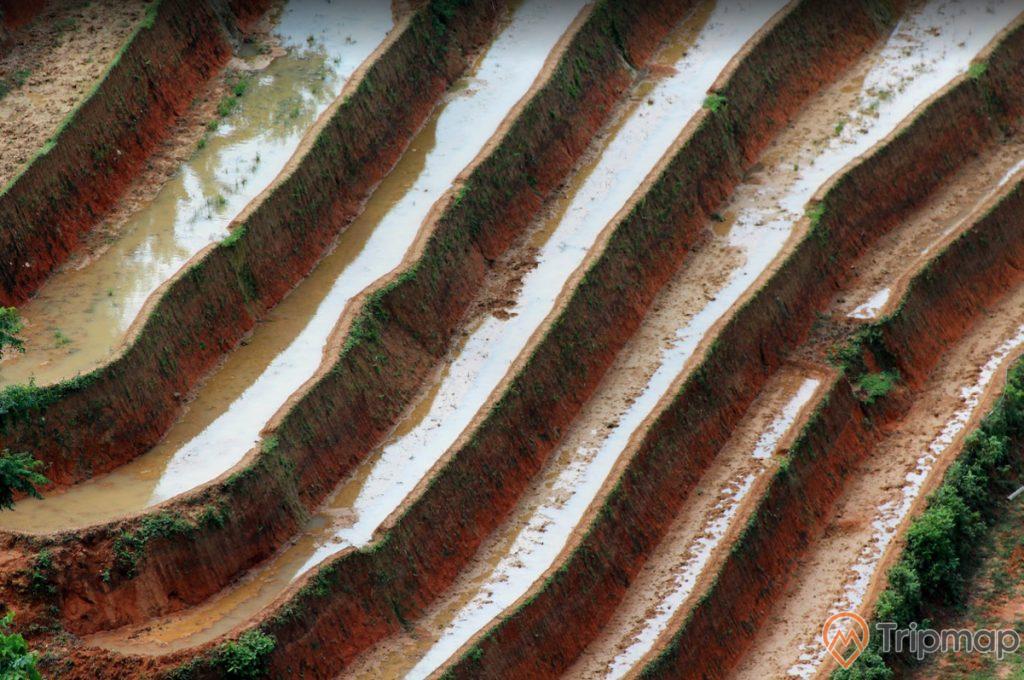 Cận cảnh những thửa ruộng bậc thang Hoàng Su Phì, ảnh chụp từ trên cao