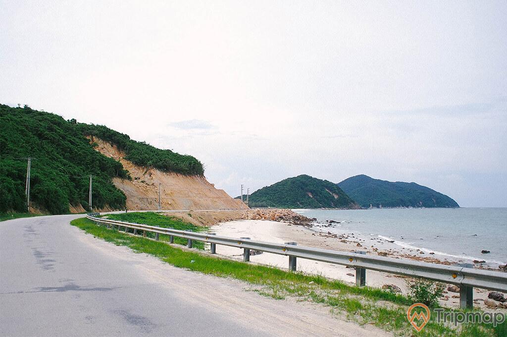 Con đường tới bãi Cồn Khởi
