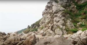 Bãi đá trời – Cồn Chân Tiên
