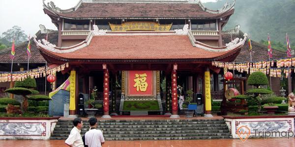Kiến trúc chùa Hoa Yên mang đậm chất Phật giáo đại thừa