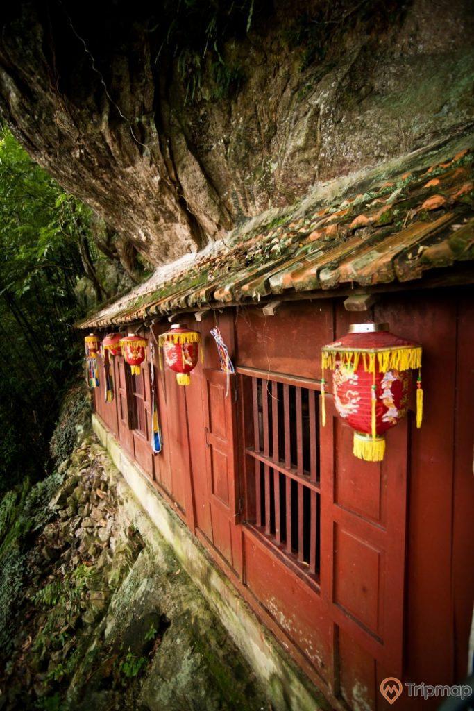Hình ảnh chùa Một Mái xưa