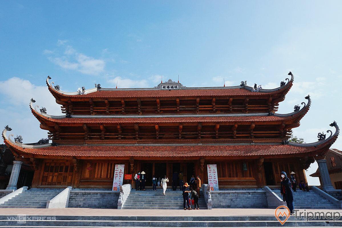 Chùa Quỳnh Lâm là điểm đến nổi tiếng tại Tx. Đông Triều