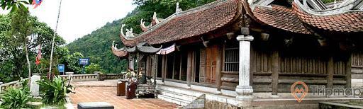 Khu hậu đường chùa Trình