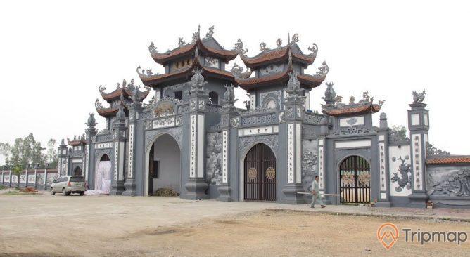 Cổng chùa Trình Yên Tử Quảng Ninh