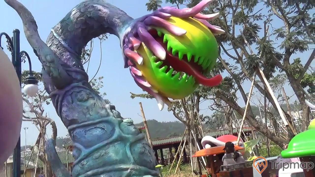 Một trong các trò chơi dành cho trẻ nhỏ được yêu thích nhất tại Dragon Park