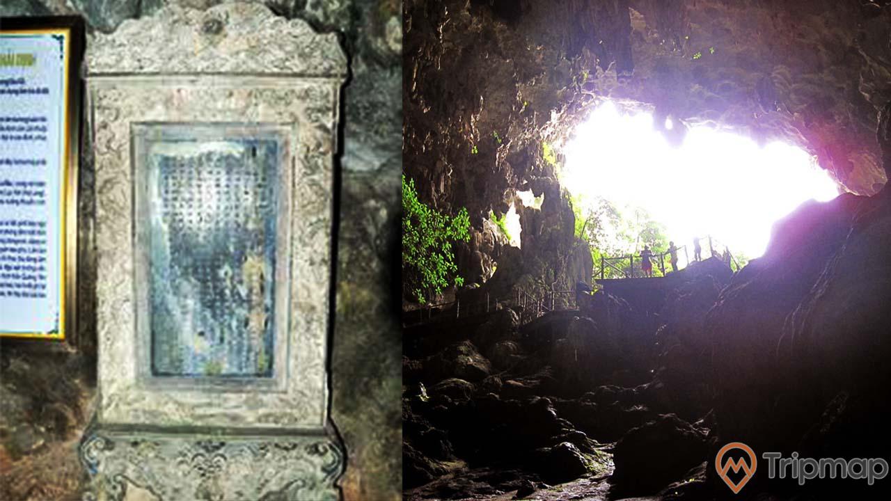 Di tích lịch sử vua Khải Định trong hang