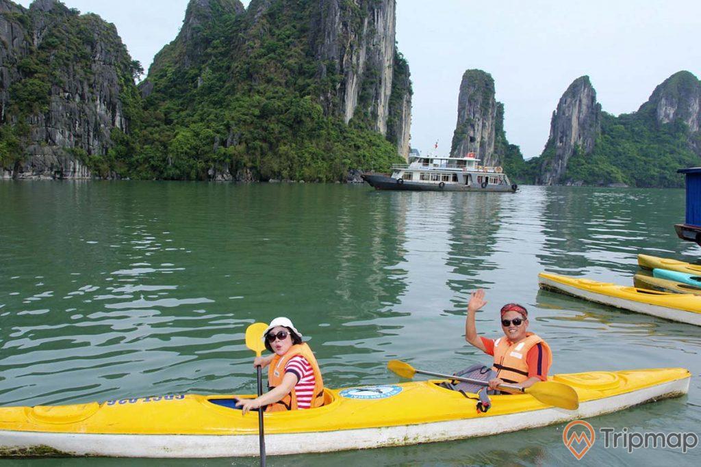 Chèo kayak quanh làng chài Ba Hang và các vùng lân cận