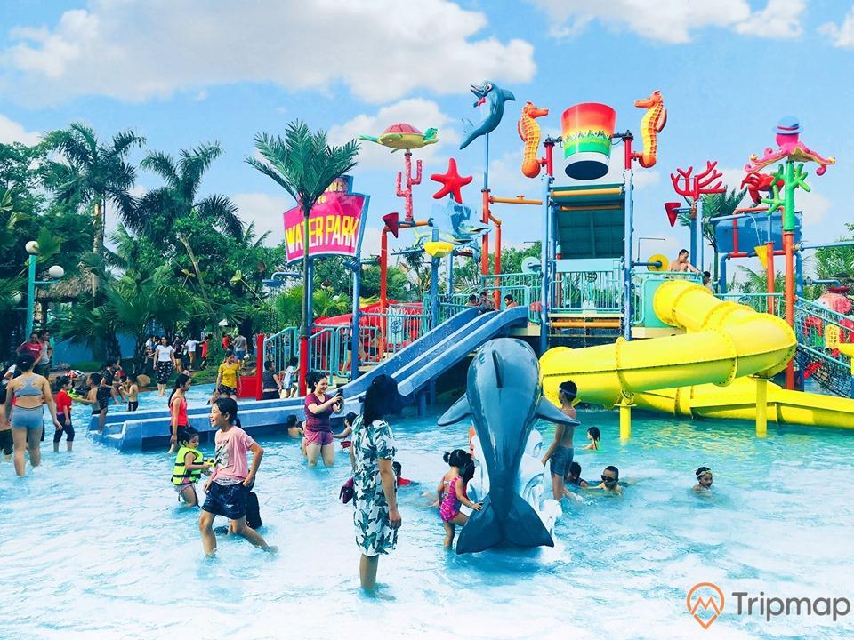Một trong những tụ điểm vui chơi được mọi người yêu thích nhất chính là công viên nước Quảng Ninh Gate