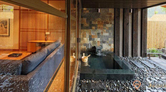 Nội thất bên trong một căn villa tại Yoko Onsen