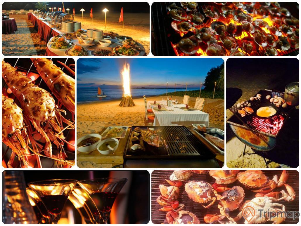 BBQ trên bãi biển Vàn Chảy