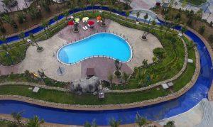 Bể bơi cho khách V.I.P