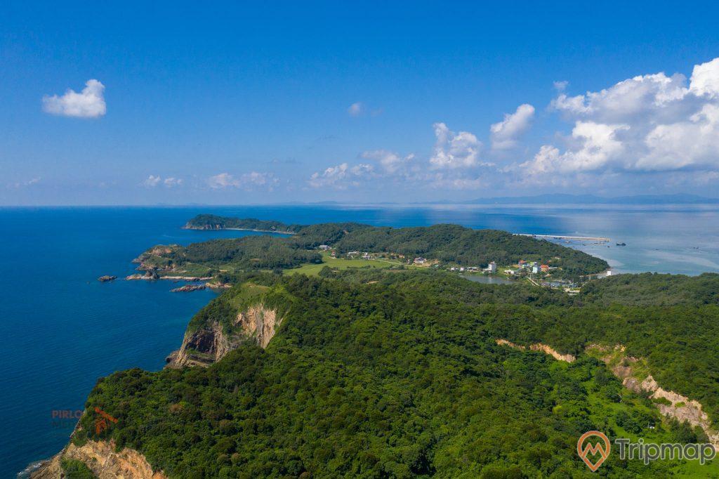Toàn cảnh đảo Cô Tô, Quảng Ninh