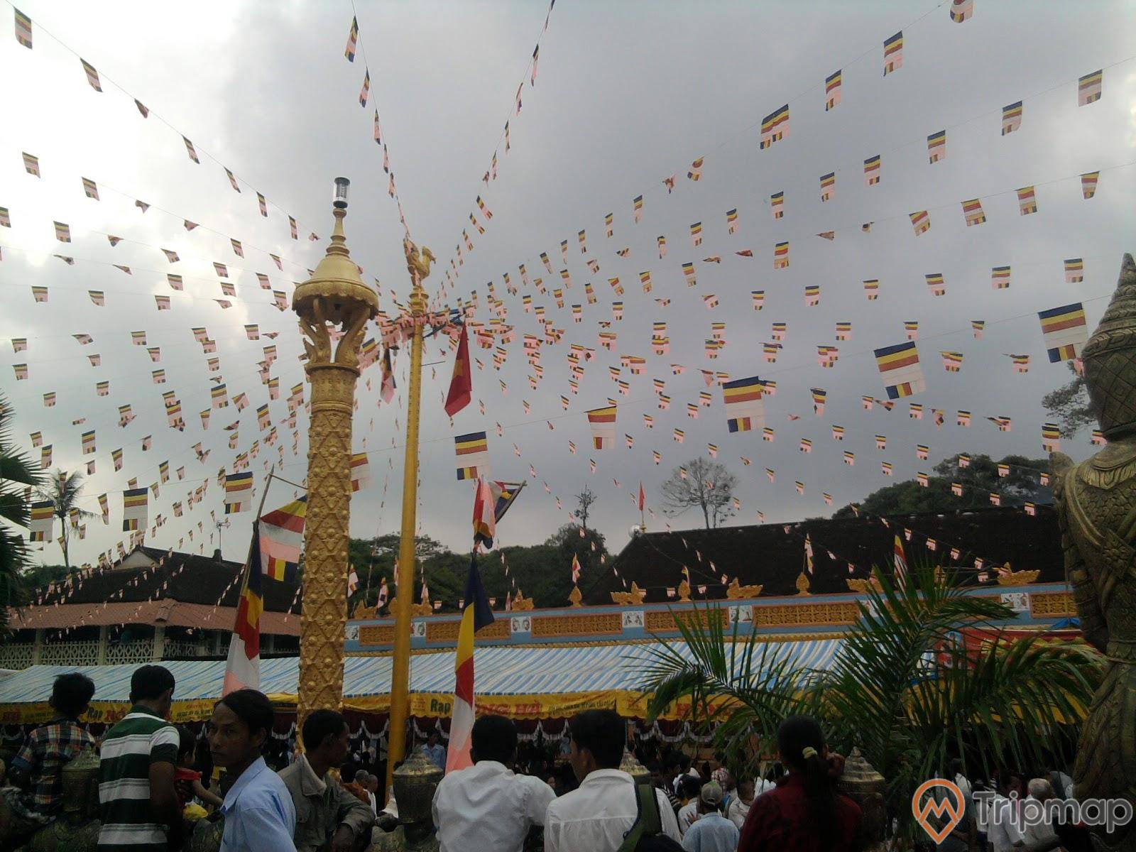 Lễ hộitại chùaPhnô Đôn - Du lịch Trà Vinh
