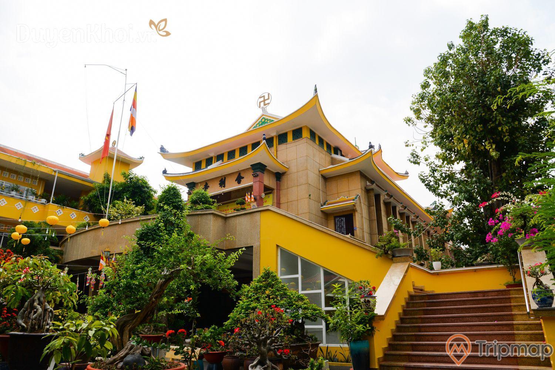 Lối kiến trúc độc đáo của chùa Xá Lợi