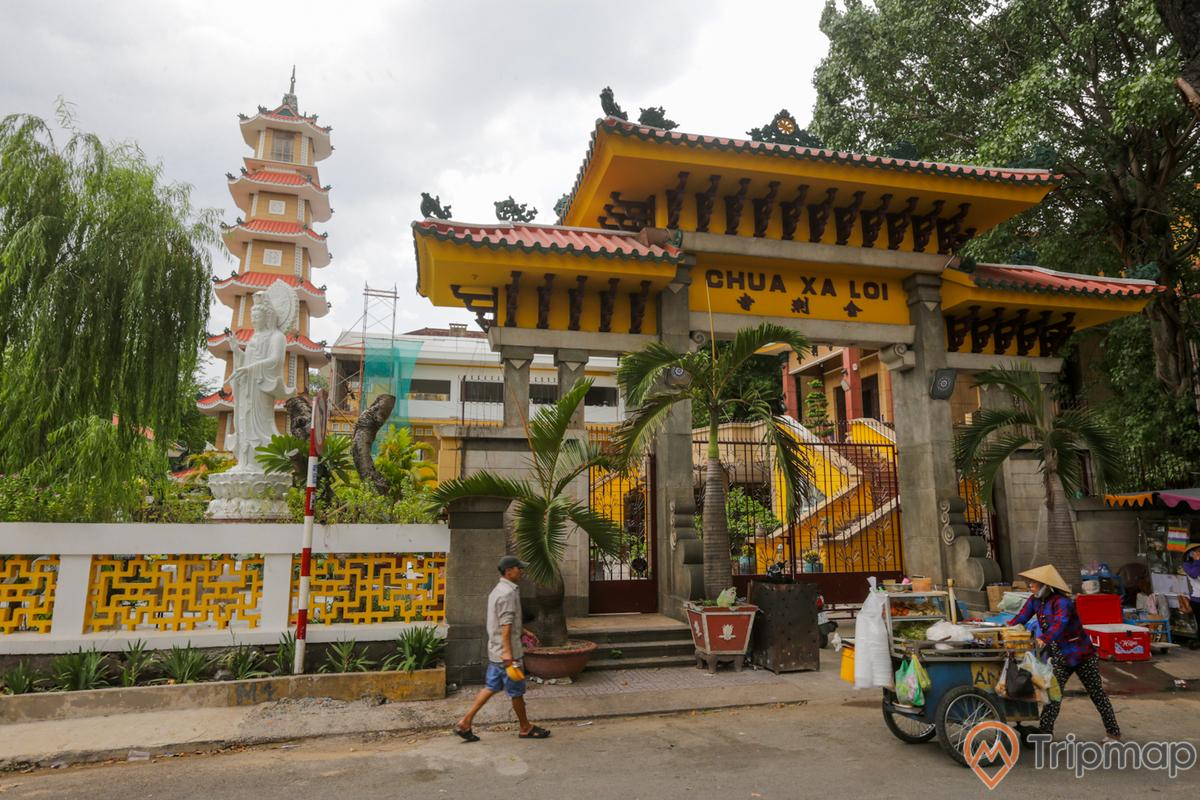 Khám phá kiến trúc của chùa Xá Lợi