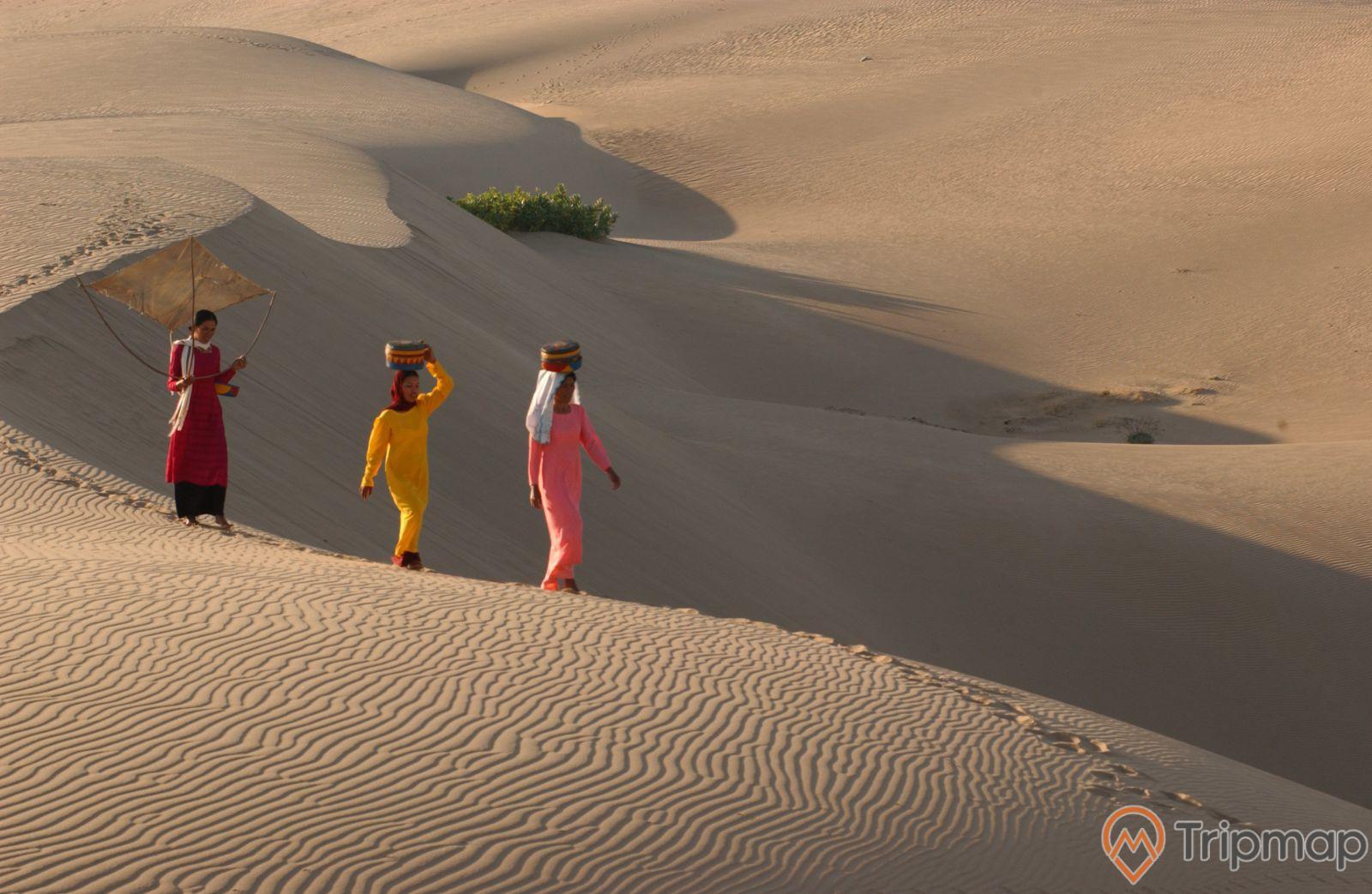 Vẻ đẹp của cồn cát Nam Cương