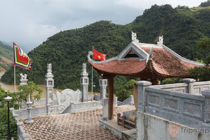 Đền thờ vua Lê Lợi - du lịch Lai Châu