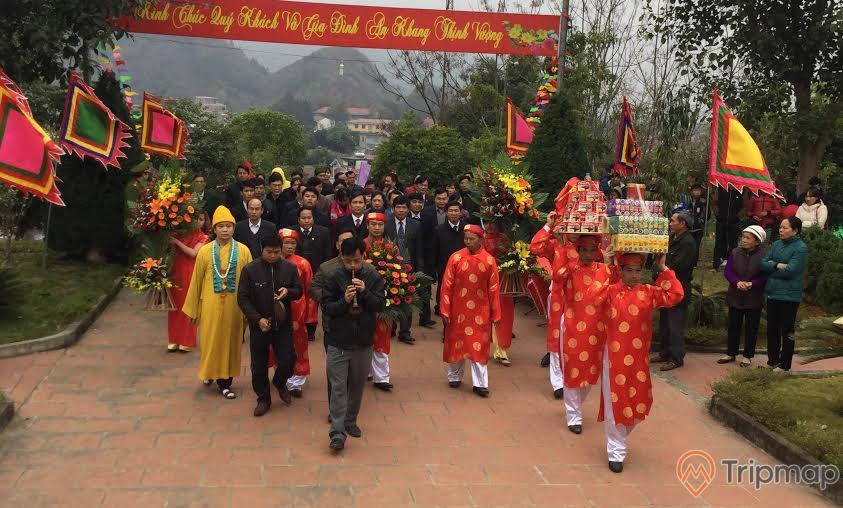 Lễ hội tại đền thờ Vua Lê