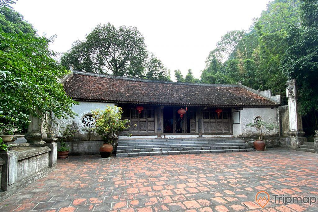 Ngôi đền Trúc cổ tại Hà Nam, kiến trúc cổ